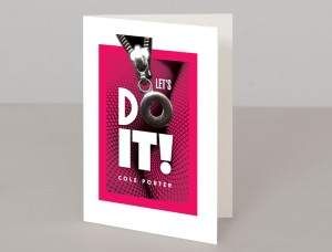 Cole Porter's Let's Do It A5 Greetings Card