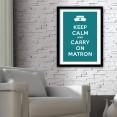 Keep Calm and Carry On Matron Art Print