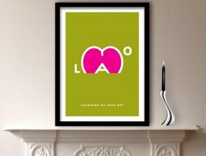 LMAO Art Print
