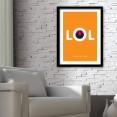 LOL Art Print