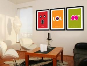 Txt Speak Art Prints
