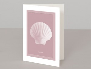 Clam Shell A5 Greetings Card