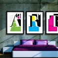 Alphabet Letters Art Prints