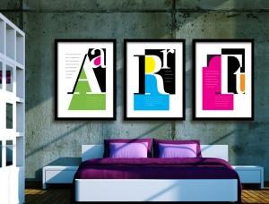 Alphabet Letters Art Prints