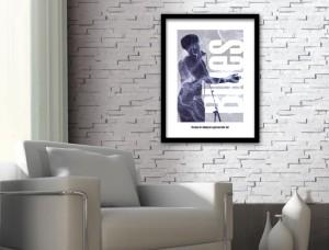 Blues Music Art Print