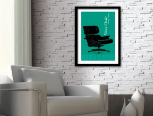 Vitra Chair Art Print