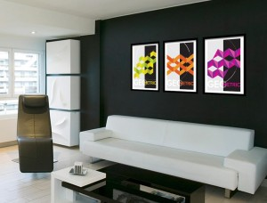 Geometric Design Art Prints