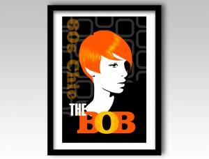 Bob Hairstyle Art Print