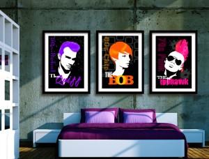 Hairstyles Art Prints