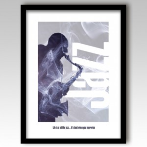 Jazz Music Art Print