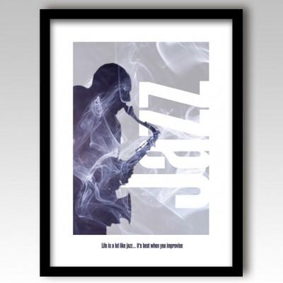 Jazz Music Art Print