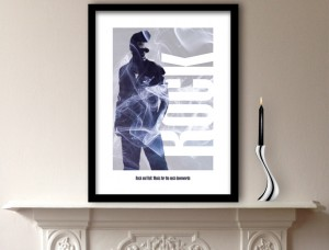Rock Music Art Print