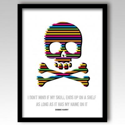Skull & Crossbones Art Print