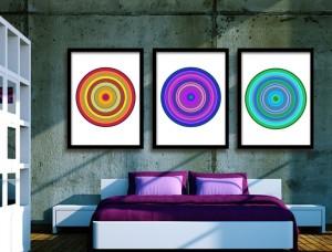 Pop Art Target Art Prints