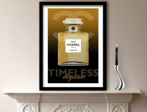 Chanel Perfume Art Print