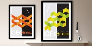 GEO-metric Art Prints