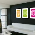 Abstract Circles Design Art Prints