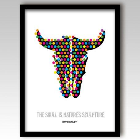Animal Skull Art Print