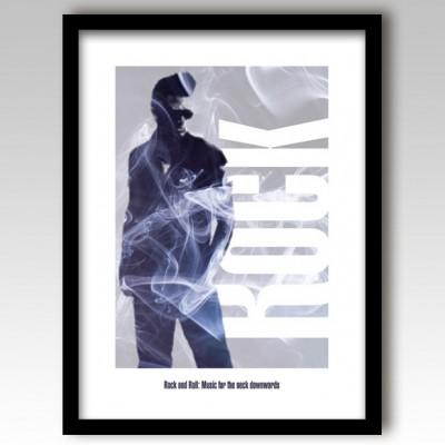 Rock Music Art Print